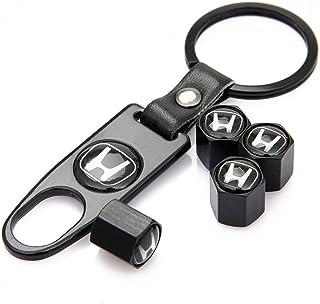 Honda Negro de aleación de coche Rueda Neumático Válvula