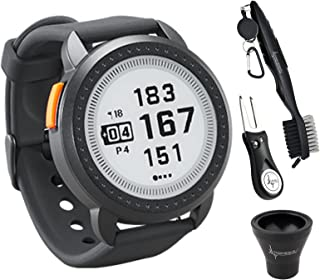 $164 » Bushnell iON Edge Golf GPS Watch Black with 38,000 Courses and auto-Course Recognition, GreenView with Wearable4U Ultimate...