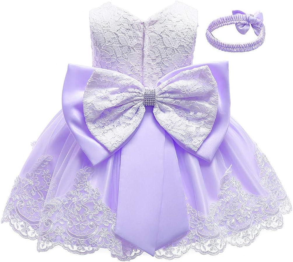 Many popular brands Christening Washington Mall Lace Flower Baby Girl Tut Prom Princess Formal Dress