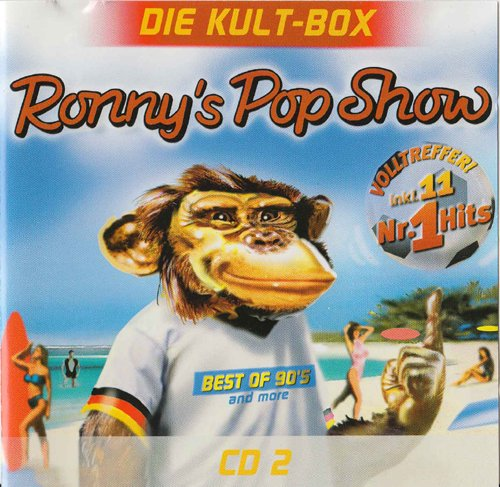 (CD Compilation, 16 Titel, Diverse Künstler) Felix - Don't You Want Me / Gala - Freed From Desire / Paula Abdul - Rush Rush / The Beloved - Sweet Harmony / New Kids On The Block - Step By Step u.a.