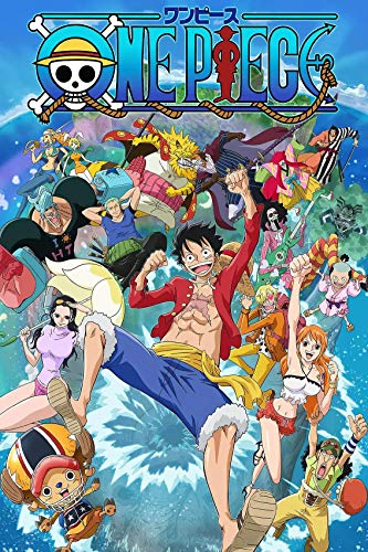 One Piece Poster Japanese Anime Posters Boys Home Office Wall Decor and Creative Painting Decoration,Unframed Version (16' x 24') (One Piece)