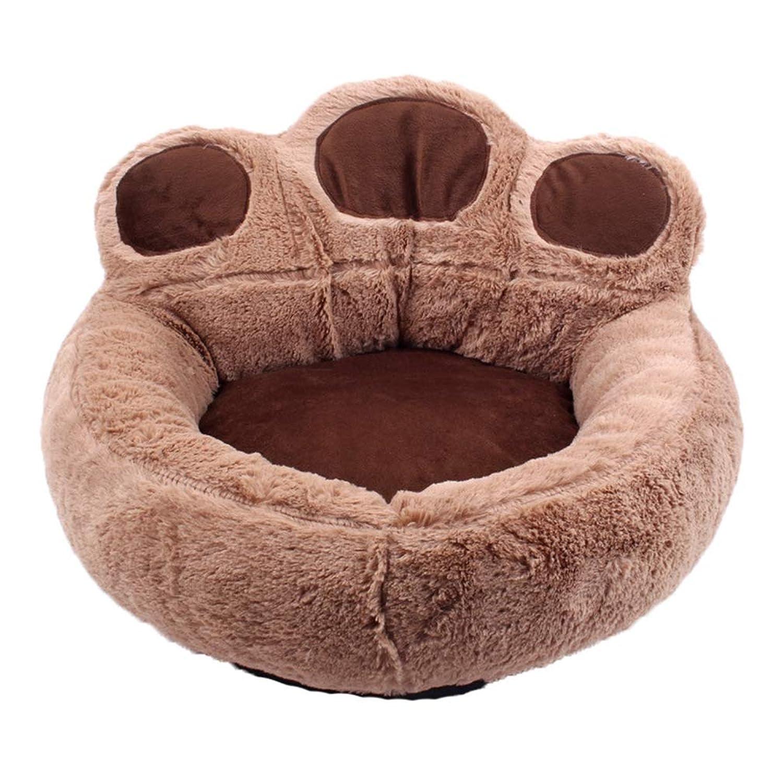 ペット用 ベッド 春用 秋用 冬用 犬用 猫用 ペットベッド お昼寝 マット カドラー 多頭 小型犬用 中型犬 丸 可愛い ふわふわ ふんわり ピンク ブラウン ベッド おもしろペットベッド ふわふわ 暖か ベッド クッション