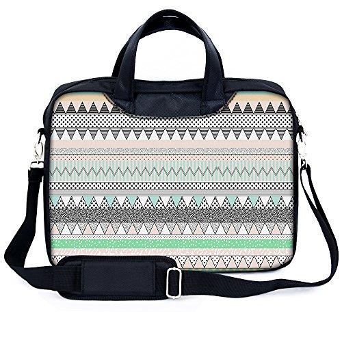 Sidorenko 15-15,6 Zoll Laptoptasche | Laptop Umhängetasche mit zwei Innentaschen für Zubehör | Notebook-Schultertasche - Notebook-Tasche Schmutz- und Wasserabweisend