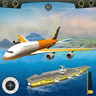 Flight Pilot Plane Landing Flight Simulator Game