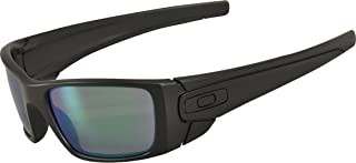 Oakley SI Fuel Cell Polarized Sunglasses Matte Black Frame/Prizm Maritime Lens