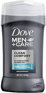 Dove Men+Care Deodorant Stick Clean Comfort 3 oz (Pack of 7)