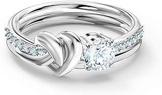 SWAROVSKI Lifelong Heart Ring Cz White 8