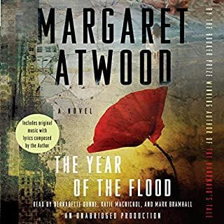 The Year of the Flood audiobook cover art