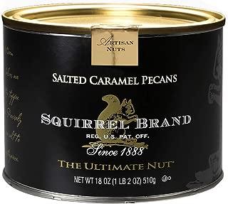 SQUIRREL BRAND Artisan Nuts Salted Caramel Pecans, 18 oz Gift Tin