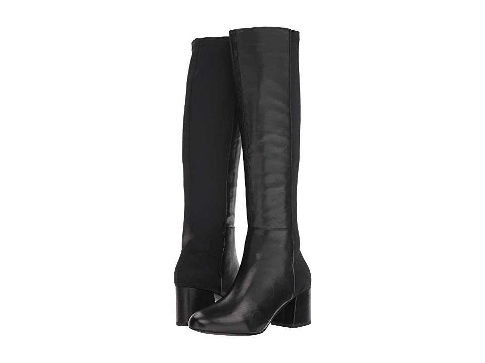 Steve Madden Hero Boot (Black Leather) Women