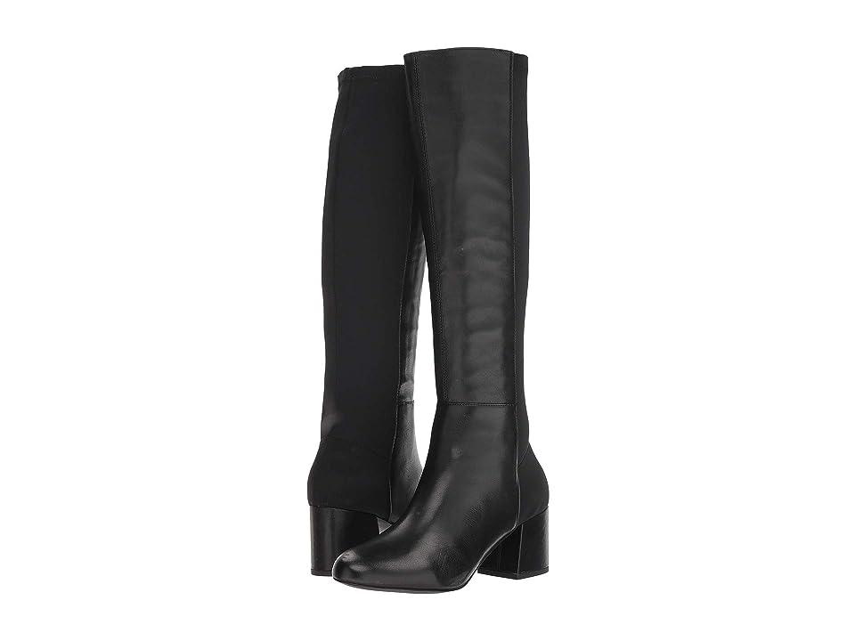 Steve Madden Hero Boot (Black Leather) Women