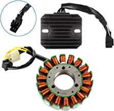 ECCPP Voltage Regulator Rectifier Magneto Generator Engine Stator Coil Kit Fit for 2001-2004 Suzuki GSX-R1000 2001-2005 Suzuki GSX-R600 2001 2003 Suzuki GSX-R600Z Limited 2000-2005 Suzuki GSX-R750