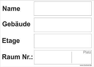40x Umzugetiketten Nr.5, 105x74, Beschriftung mit Etiketten vom Umzugskarton für den Umzug, Umzugsetiketten, Weiß