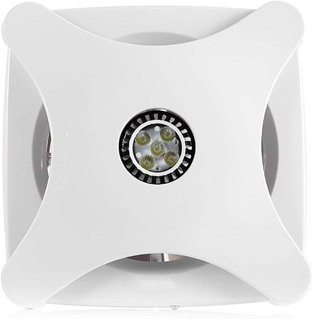 LXZDZ Extractor de aire Potente extractor de aire Ventilador de extracción montado en la pared y en el techo Empotrado en el hogar