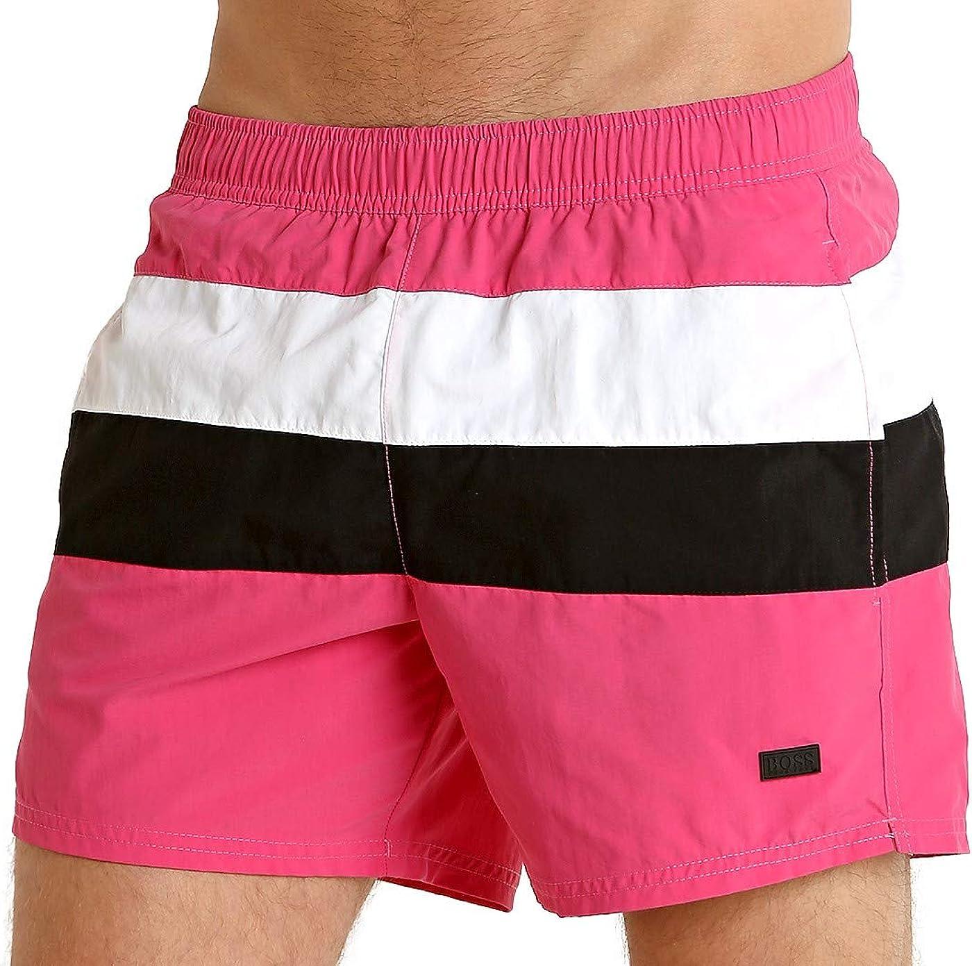 Hugo Boss Men's Wholesale Pattern Length Short Swim free shipping Trunk