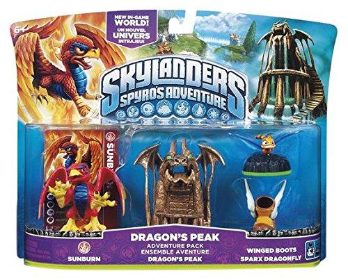 NEW! Skylanders Spyro's Adventure Dragon's Peak Sunburn Winged Boots Dragonfly