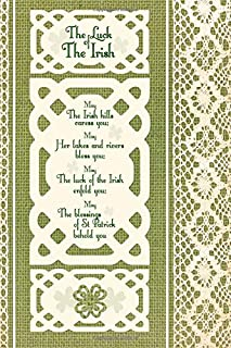 Luck of the Irish: Journal / Gifts for St Patrick's Day ( Large Celtic Ruled Notebook ) (Travel & World Cultures)