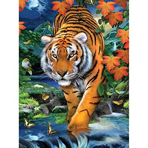 Royal Brosse différents Junior Petite Peinture par numéro Kit 8.75-inch x 11.75-inch, sur la traque