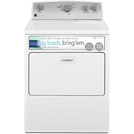 Kenmore 65132 7.0 cu. ft. Electric Dryer with SmartDry Plus Technology in White