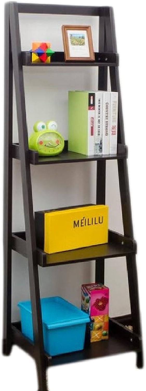 SportsX Shelving Espresso Metal Cubes Wide Open Book Shelf AS1 4 Shelves