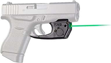 ArmaLaser Glock 42 43 43X 48 TR5G Super-Bright Green Laser Sight with Grip Activation