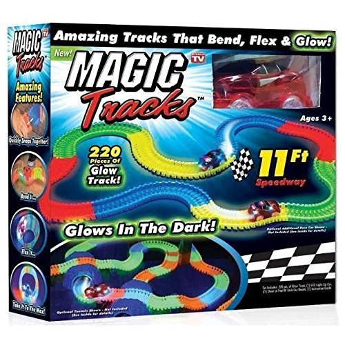 Magic Tracks el circuito Incroyablement fults y modulable que brille en el...