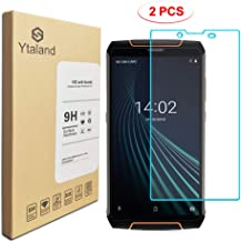 [2 Pack] Ytaland for Cubot King Kong 3 Screen Protector, [ Anti-Fingerprints ] [0.3mm, 2.5D] [Bubble-Free] [9H Hardness] Tempered Glass Screen Protector for Cubot King Kong 3