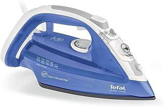 Tefal Steam Iron Ultragliss Anti-calc FV4944M0 2500W Calc Collector Durilium Technology Soleplate - 150 g Steam Boost