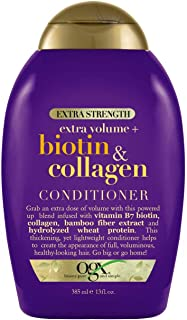 Ogx Conditioner Biotin & Collagen Extra Strength 13 Ounce (385ml) (Pack of 2)