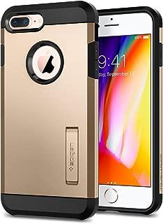 【Spigen】 スマホケース iPhone8 Plus ケース / iPhone7 Plus ケース 米軍MIL規格取得 耐衝撃 スタンド機能 タフ・アーマー2 055CS22248 (シャンパン・ゴールド)