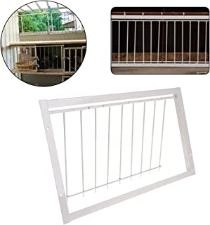 Abicial Pigeon Supplies Trap Door, Pigeon Door Wire Bars Frame Entrance Trapping Doors Loft Supplies Racing Birds Catch Bar