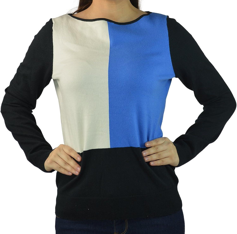Ralph Lauren Women's colorBlocked LongSleeved Sweater Blouse TopBBPM