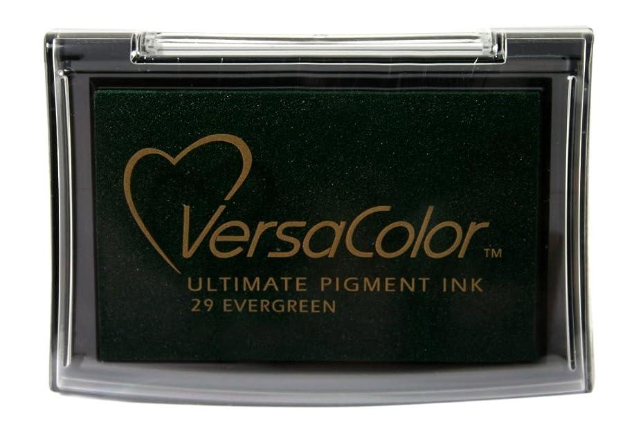 Tsukineko Full-Size VersaColor Ultimate Pigment Inkpad, Evergreen