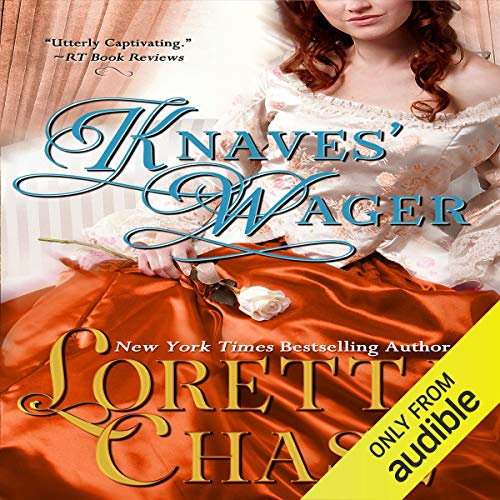 Knaves' Wager audiobook cover art