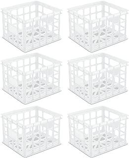 white file crate