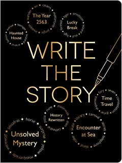 Piccadilly Write the Story | Creative Writing Journal | Guided Storytelling Notebook | Acid-Free Paper | 200 Pages, Model:...