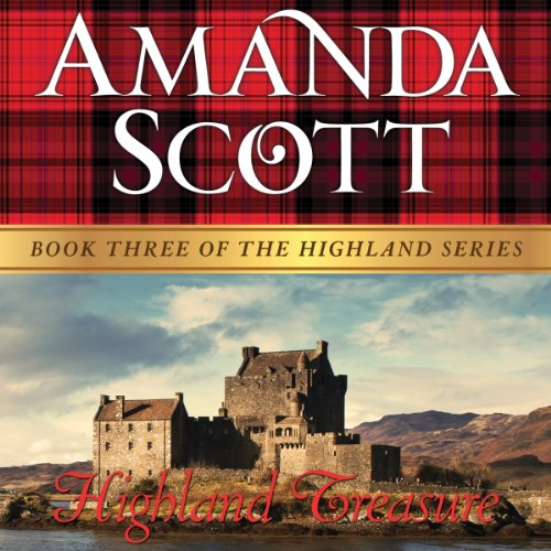 Highland Treasure audiobook cover art