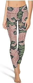 Tiger Stripe Camouflage Woman Gym Yoga Pants Lightweight Fitness Pants Girls