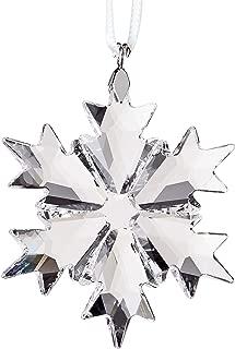 SWAROVSKI Little Snowflake Ornament, Small, Clear Crystal