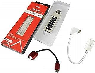 [SRPJ]【スイッチ・NEOGEO mini対応】特殊L型ケーブル付属 スイッチ本体でPS3/PS4コントローラーが使えるコンバータ[正規品] [1961]