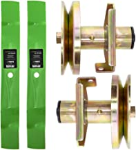 8TEN Deck Blade Spindle Kit Set Combo for John Deere Sabre Scotts 38 Inch 42 Inch 1338G S1642 1438GS 1438HS 1542GS
