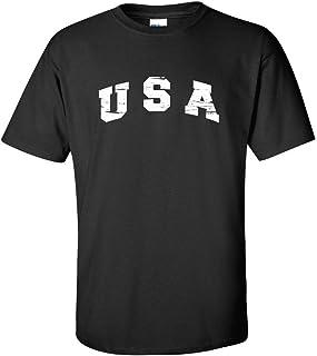 Feelin Good Tees USA Patriotic America for Dad 4th of July Fun Mens Funny T Shirt