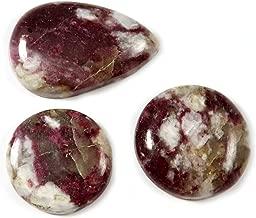 Gems&Jewels Matrix Pink Tourmaline Natural Cabochon Gemstone 3 Pcs Wholesale Lot 77ct LAY87