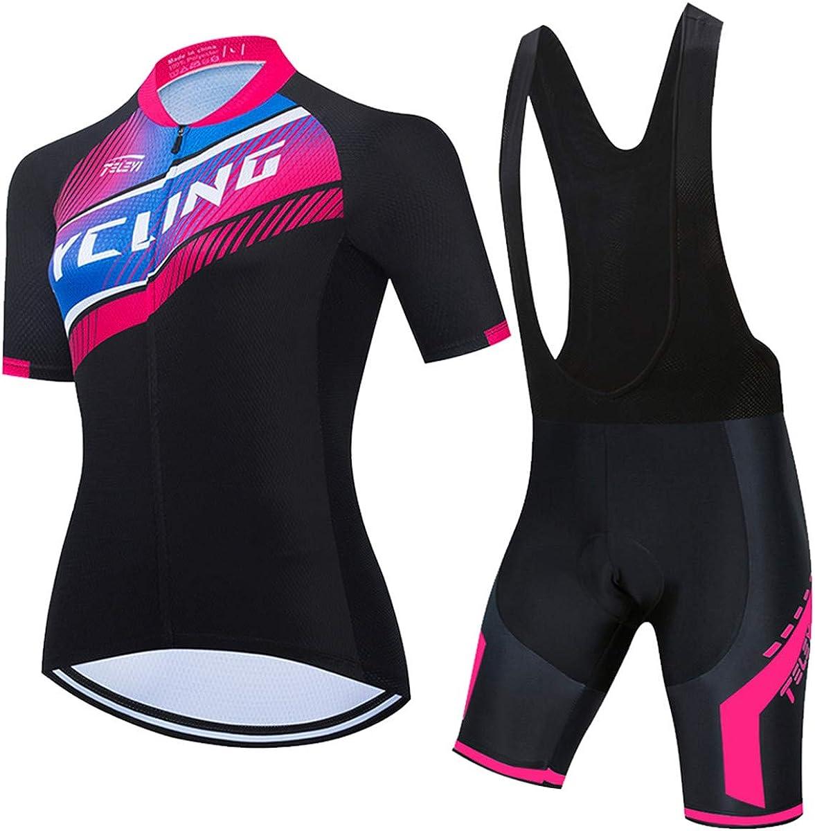 PSPORT Women's Cycling Jersey Bib Bike Ranking TOP5 Sets store Shorts Short Sleeve