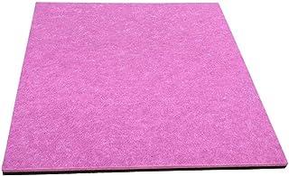 映画ルーム用音響パネル、(10PCS)カラー寝室の壁幼稚園スタジオ吸音綿 (Color : Purple)