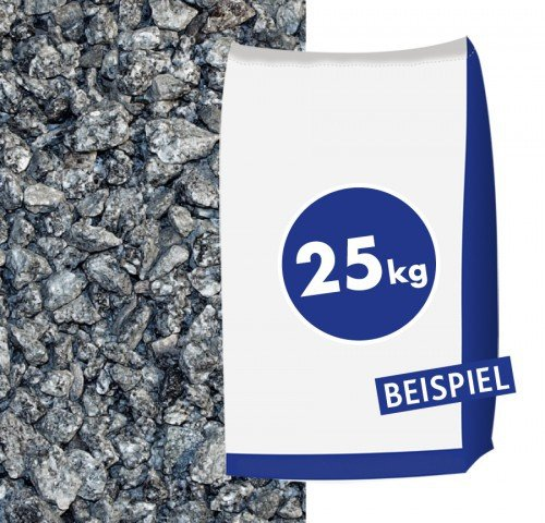Granitsplitt Hellgrau 16-32mm 25kg Sack - dekorative Gartengestaltung