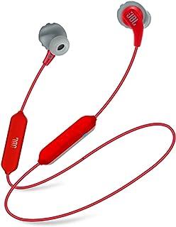 JBL Endurance Run Sweatproof Wired Sport In-Ear Headphone, Red