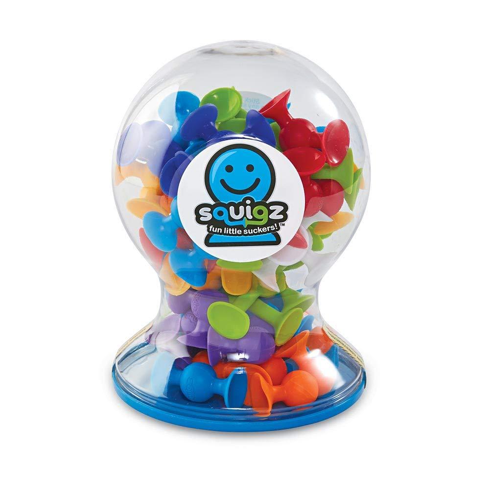 Regular discount Fat Brain Kansas City Mall Toys Squigz Set 50 Piece Deluxe
