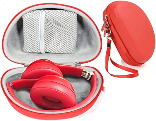 lowest Red Zip Protective Case for Beats Solo3 Wireless On-Ear Headphones, online sale Also for Solo 2 Wired and Solo discount HD online