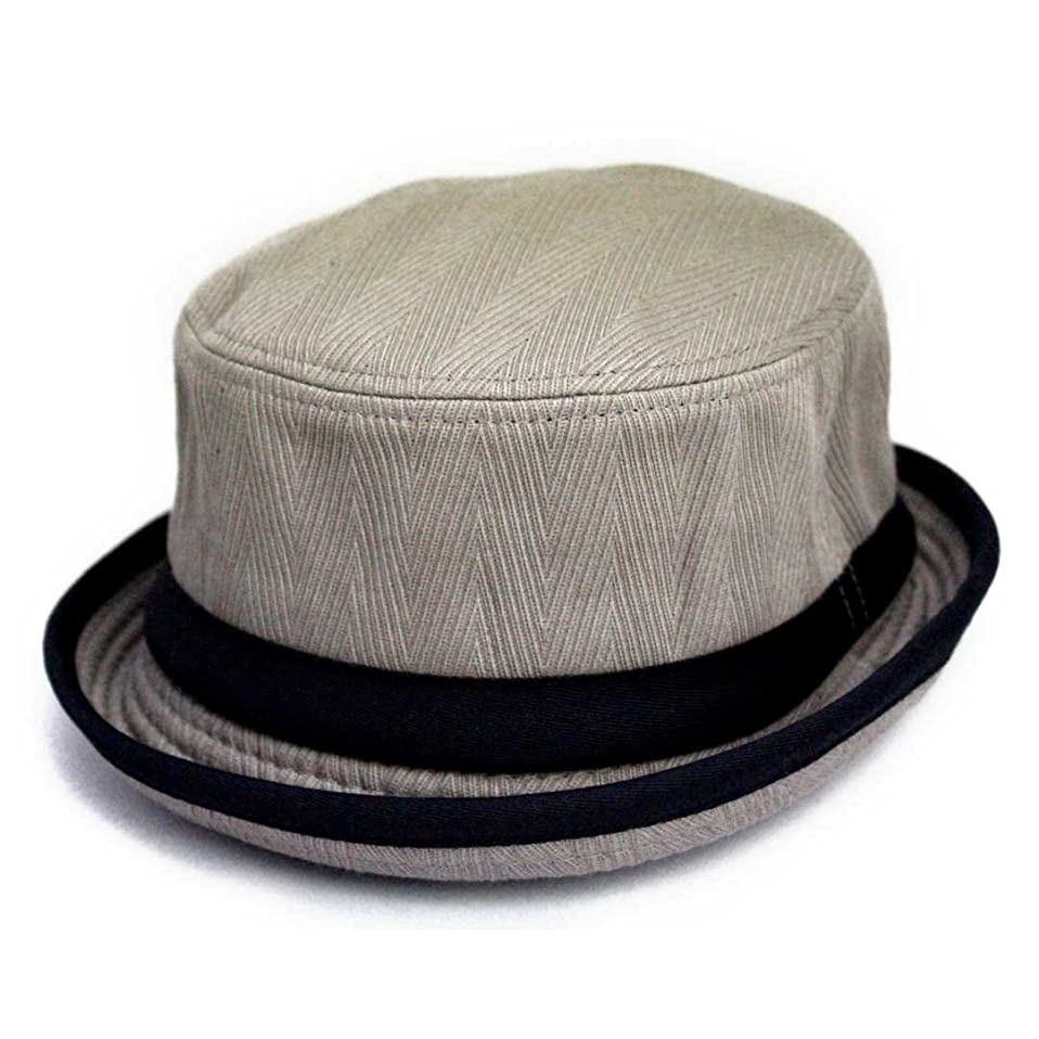 レースラオス人ドラゴンハット ポークパイハット Pork Pie HAT 帽子 大きいサイズ